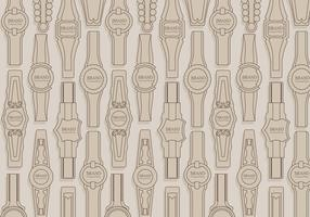 Cigar Label Pattern Vector