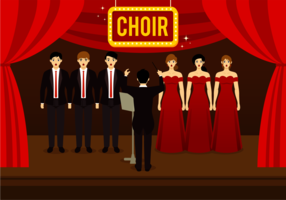 Free Choir Vector