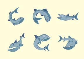 Barracuda fish vector illustration
