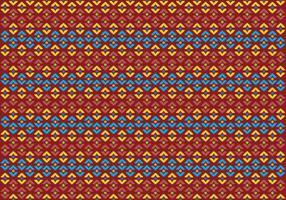 Pattern Of Indonesian Songket Illustration 2