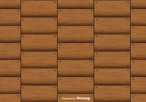 Hardwood Planks Vector Background Seamless Pattern