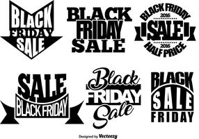 Set Of Black Friday Templates