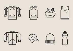 Tracksuit and Exercise Clothes Icon