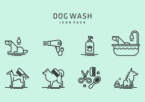 Dog Wash Icons