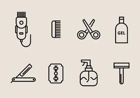 Hair Clippers Icons