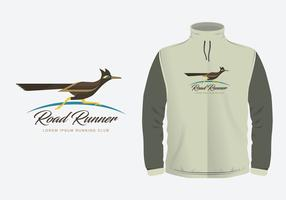 Roadrunner Illustration Costum Templates