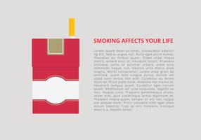 Cigarette Pack Infographic Template