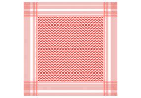 Keffiyeh Red Seamless Pattern