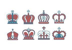 British Crown Vectors