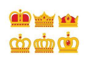 British Crown Vector