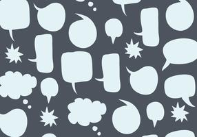 Speech Bubbles Pattern