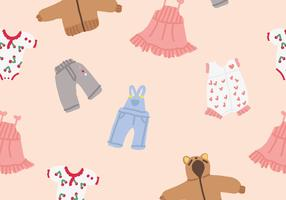 Baby Clothes Vectors