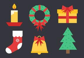 Free Christmas Elements Vector