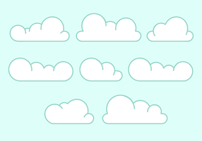Free Clouds Vector
