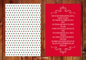 Christmas Poem Card