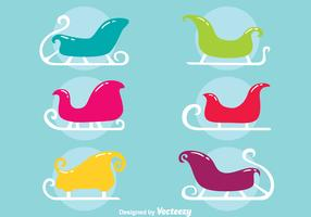 Colorful Toboggan Collection Vector