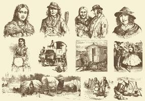 Vintage Gipsy Draws