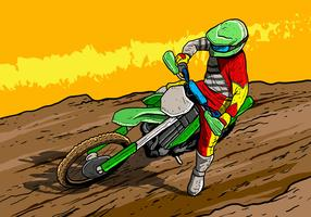 Dirt Bikes Motorcycle Rider