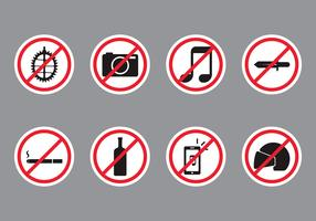 Forbidden Public Sign