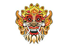 Fun Barong Mask Vector