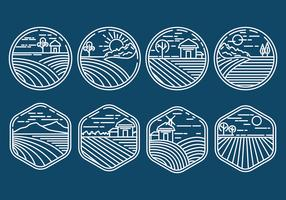 Rice Field Icons