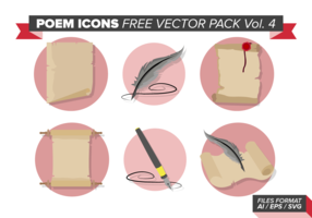 Poem Icons Free Vector Pack Vol. 4