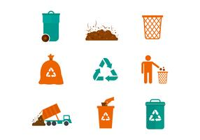 Free Landfill Vector Icons