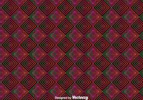 Huichol Orament Seamless Pattern