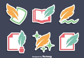 Writing Icons Vector