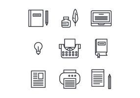 Storytelling Set of Icons