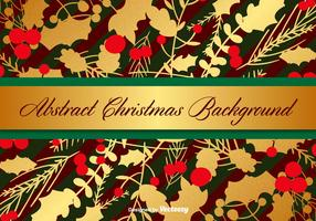 Vector Christmas Background Template