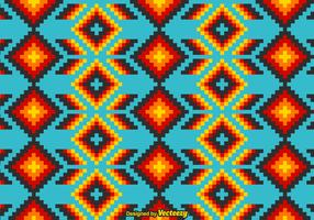 Free Mexican Huichol Vector Pattern