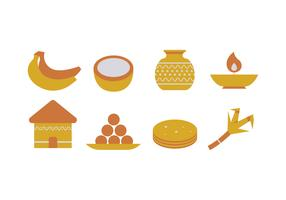 Pongal Icons