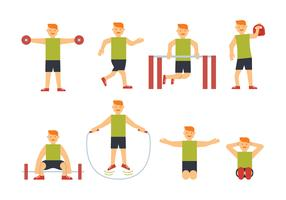 Sportsman training vectors