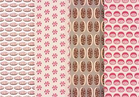 Vector Sweets Patterns