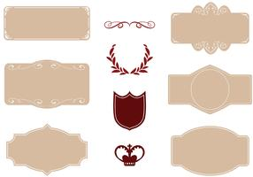 Free Cigar Label Vectors