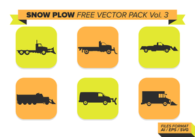 Snow Plow Free Vector Pack Vol. 3