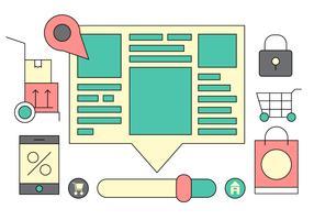 Web Portal UI Vector Icons