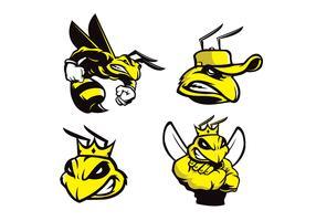 Free Bee Vector
