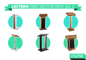 Lectern Free Vector Pack Vol. 2