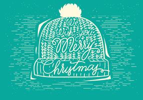 Free Christmas Vector Hat Illustration