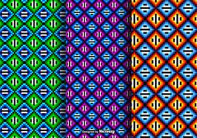 Free Colorful Huichol Vector Patterns