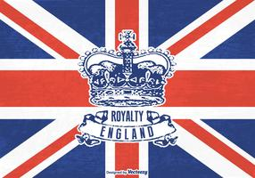 Free Grunge British Crown Vector
