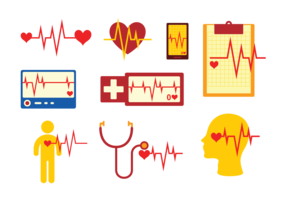 Flatline Icons Vector