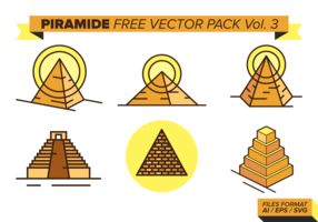 Piramide Free Vector Pack Vol.3