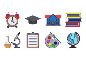 Free Education Icon Vector
