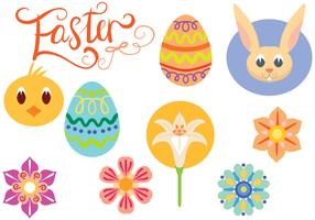 Free Cute Easter Vectors