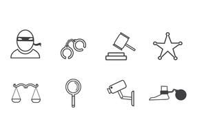 Free Crime Icon Vector
