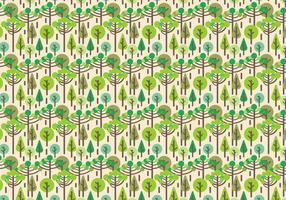 Free Trees Vector