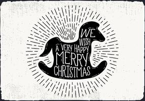 Free Christmas Greeting Card Vector